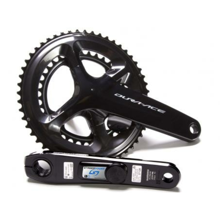 Stages Power LR Shimano Dura-Ace R9100 53/39 175mm kétoldali wattmérő